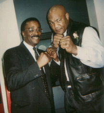 Spider Harrison and George Foreman